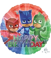 Happy Birthday PJ Masks Balloon
