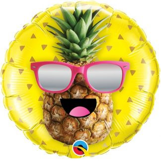 Mr Cool Pineapple Sunglasses Balloon