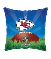 Kansas City Chiefs Square Standard Balloon