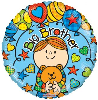 Big Brother Teddybear Standard Balloon