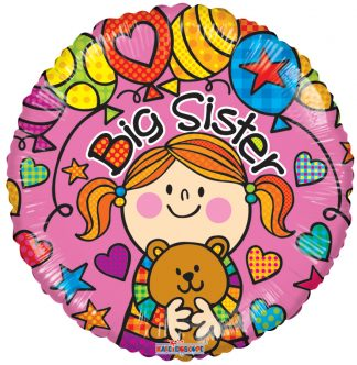 Big Sister Teddybear Standard Balloon