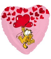 Garfield & Pooky Heart Love Standard Balloon