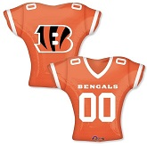Cincinnati Bengals Jersey Top Supershape Balloon