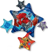 Transformers Star Cluster Supershape Foil Balloon