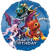 Happy Birthday Skylanders Standard Balloon