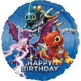 Happy Birthday Skylanders Standard Balloon