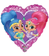 Heart Shimmer & Shine Standard Balloon