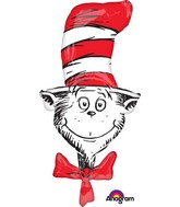 Dr Seuss The Cat In The Hat Supershape Balloon