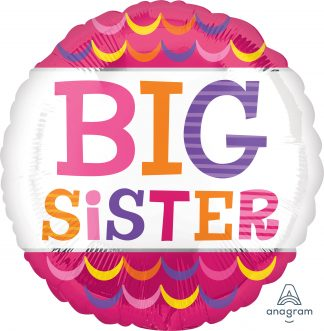 Big Sister Scallops Standard Balloon