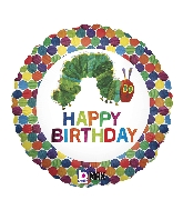 Happy birthday Very Hungry Caterpillar Standard Balloon
