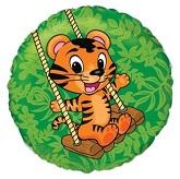 Swinging Tiger Standard Balloon