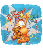 It's Your Birthday Garfield Standard Balloon