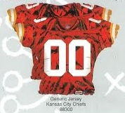 Kansas City Chiefs Jersey Top Supershape Balloon