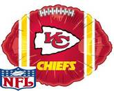 Kansas City Chiefs Ball Standard Balloon