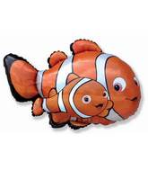 Clownfish & Baby Fish Supershape Balloon