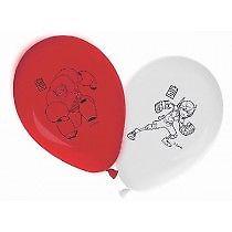 Set of 6 Big Hero 6 Latex Balloons