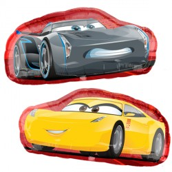 Cruz Jackson Disney Cars 3 Supershape Balloon