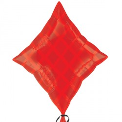 Casino Red Diamond Junior Shape Balloon
