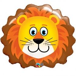 Lovable Lion Head Supershape Balloon