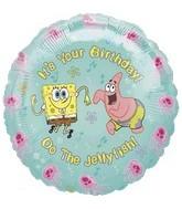 Spongebob Squarepants Birthday Standard Balloon