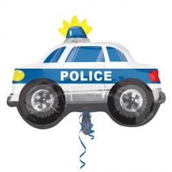 Police Car Street Treats Supershape Balloon
