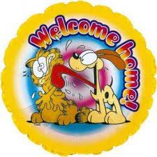 Welcome Back Garfield Odie Standard Balloon