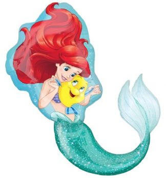Ariel The Little Mermaid Supershape Balloon