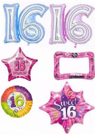 16th birthday sweet 16