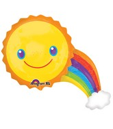 Sunshine Rainbow Supershape Balloon