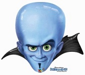 Megamind Head Supershape Balloon