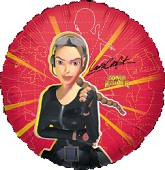 Tombraider Lara Croft Red Standard Balloon