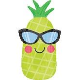 Fun In The Sun Pineapple Junior Shape Balloon