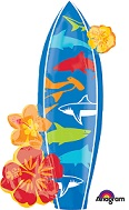 Surfboard Supershape Balloon