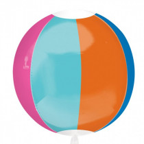 Beachball Orbz Sphere Balloon