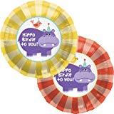 Hippo Birdie To You Standard Balloon