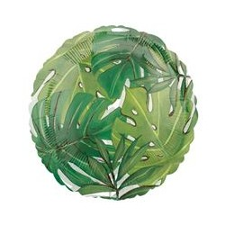 Island Palm Leaves Standard Balloon