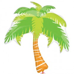Palm Tree Supershape Balloon
