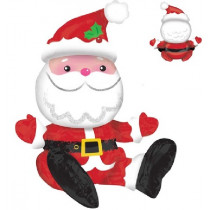 Santa Air Filled Sitting Balloon