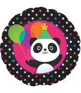 Party Panda Celebration Standard Balloon