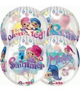 Shimmer & Shine Orbz Sphere Balloon