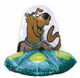 Scooby-Doo Alien UFO Spaceship Supershape Balloon