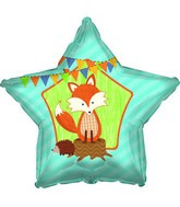 Forest Fox Woodland Standard Balloon