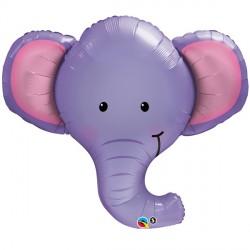 Ellie The Elephant Head Supershape Balloon