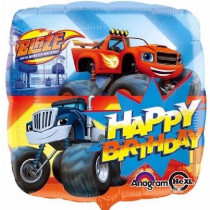 Happy Birthday Blaze Standard Balloon