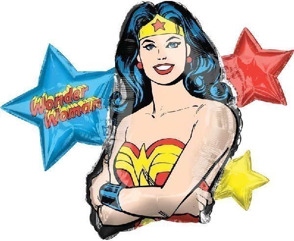Wonder Woman Supershape Balloon
