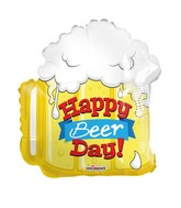 Happy Beer Day Shape Balloon