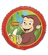Curious George Banana Standard Balloon