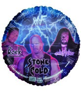WWF Rock Stone Cold Undertaker Standard Balloon