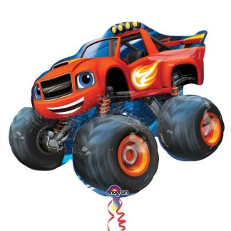 Blaze Monster Machines Supershape Balloon