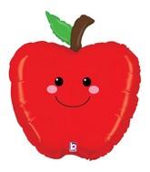 Smiling Apple Supershape Balloon